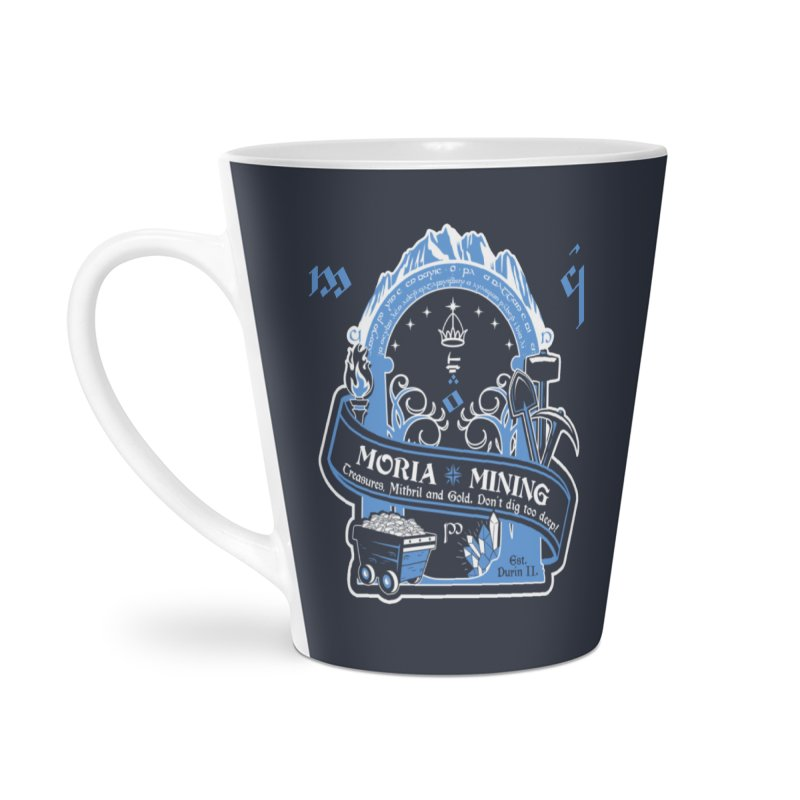 Moria Mining Accessories Latte Mug by Q101 Shop