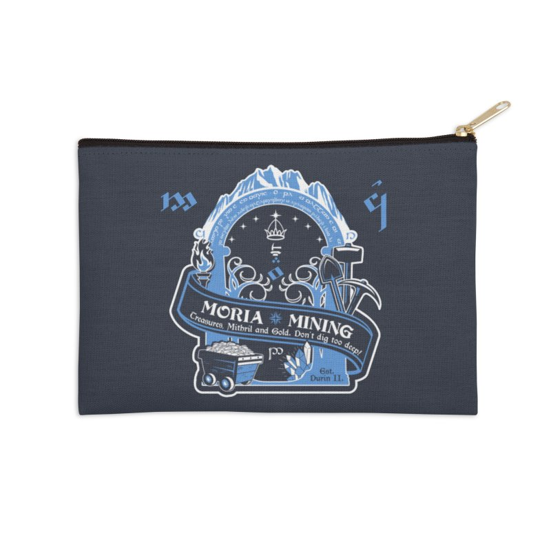 Moria Mining Accessories Zip Pouch by Q101 Shop