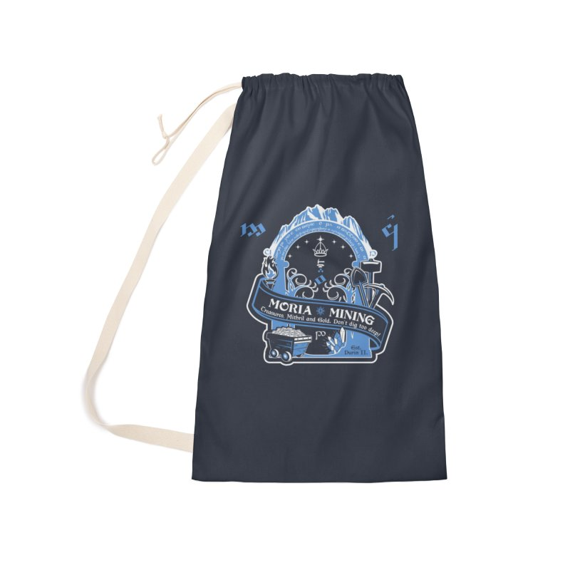 Moria Mining Accessories Laundry Bag Bag by Q101 Shop