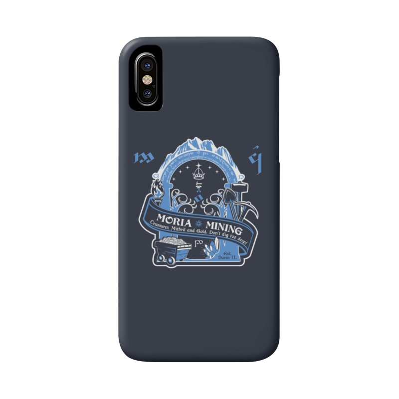 Moria Mining Accessories Phone Case by Q101 Shop