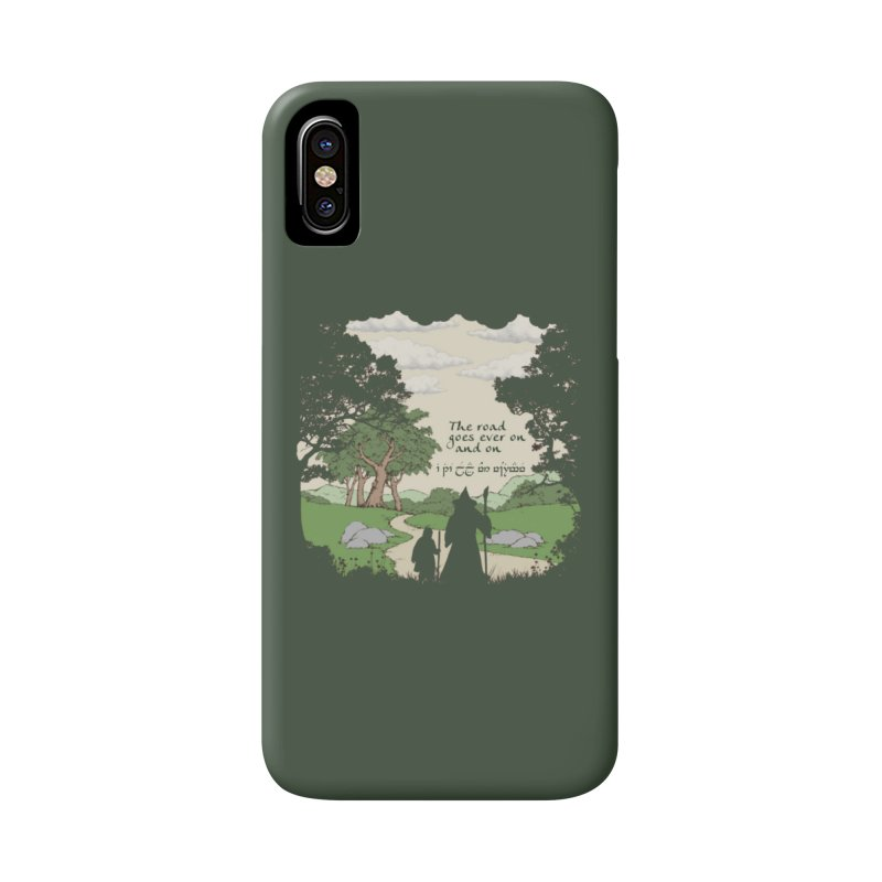 The road goes ever on and on Accessories Phone Case by Q101 Shop