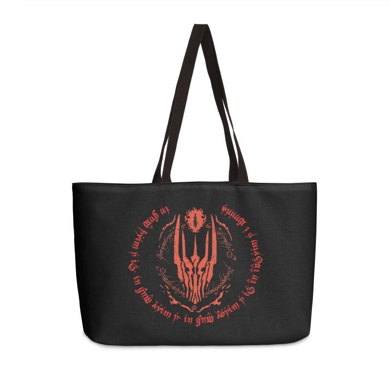 One Ring Poem Accessories Weekender Bag Bag by Q101 Shop