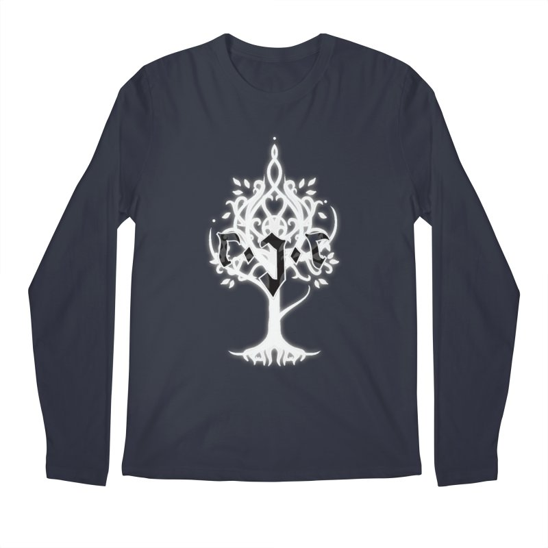 White Tree Awards VII Men's Regular Longsleeve T-Shirt by Q101 Shop