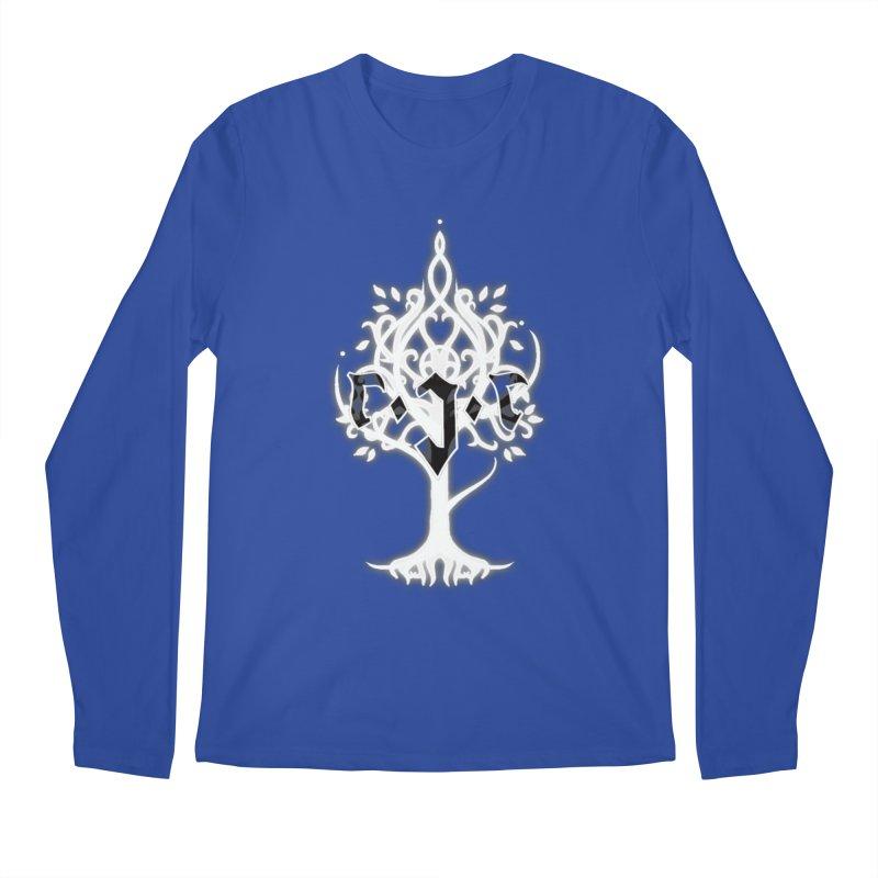White Tree Awards VII Men's Regular Longsleeve T-Shirt by Q101 Shop