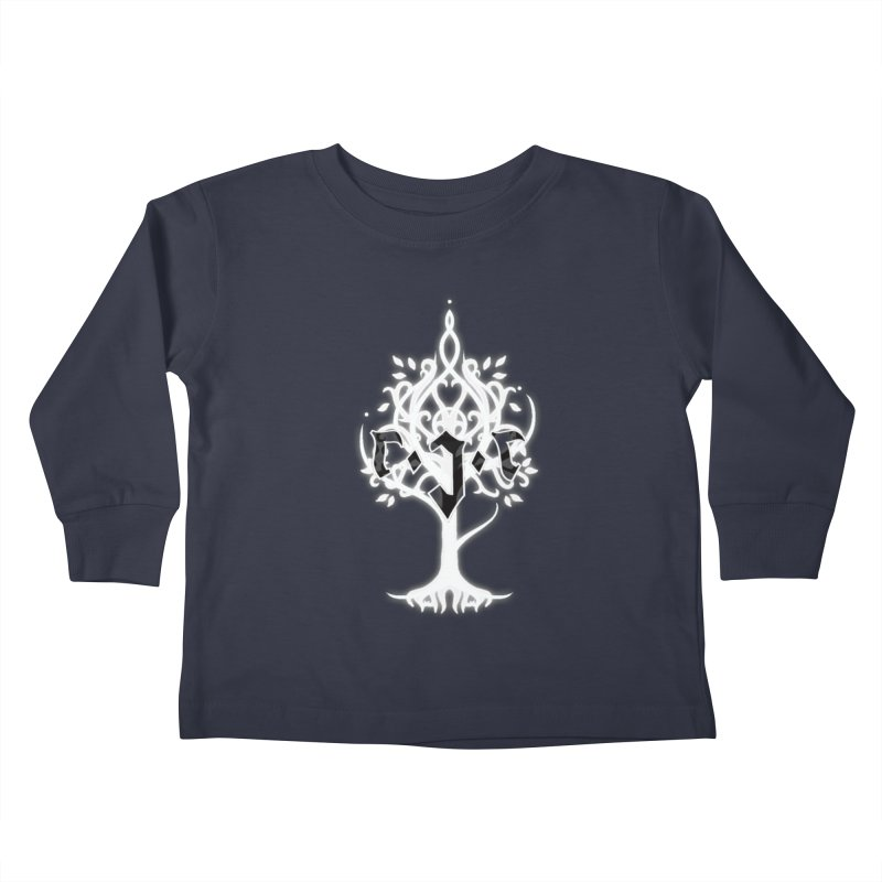 White Tree Awards VII Kids Toddler Longsleeve T-Shirt by Q101 Shop