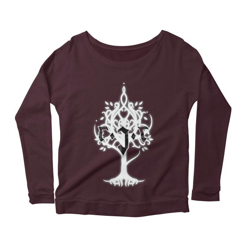 White Tree Awards VII Women's Scoop Neck Longsleeve T-Shirt by Q101 Shop