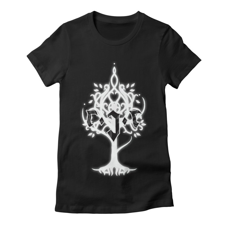 White Tree Awards VII Women's Fitted T-Shirt by Q101 Shop