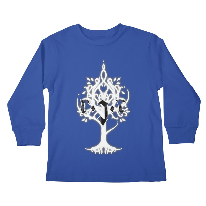 White Tree Awards VII Kids Longsleeve T-Shirt by Q101 Shop