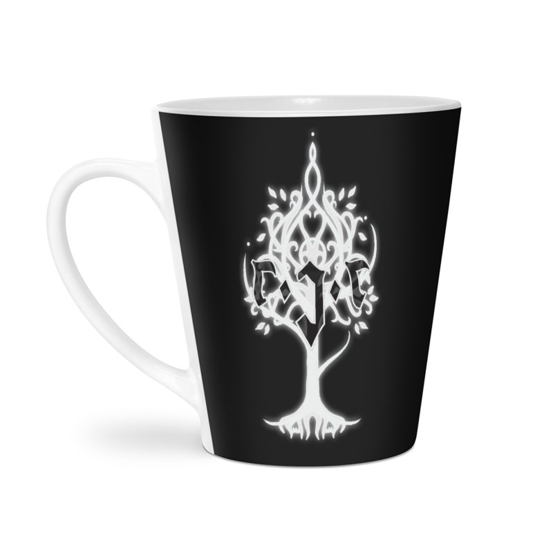 White Tree Awards VII Accessories Latte Mug by Q101 Shop