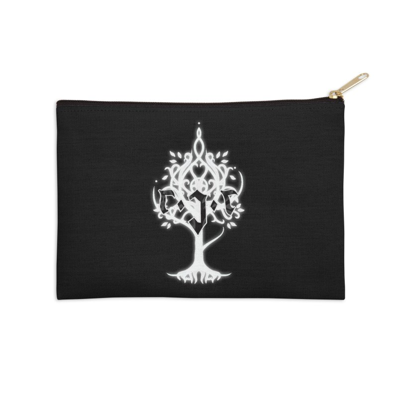 White Tree Awards VII Accessories Zip Pouch by Q101 Shop