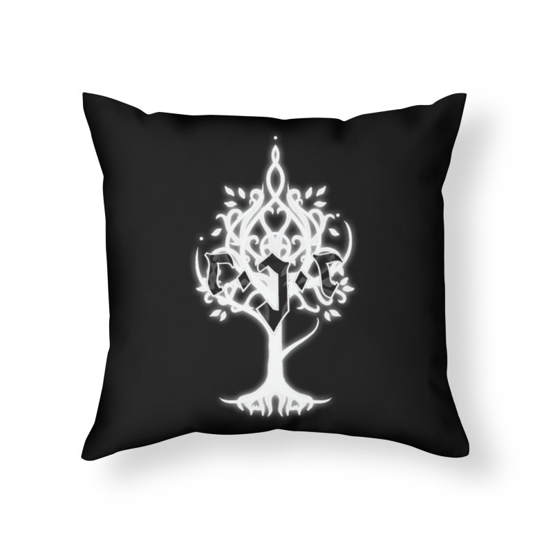 White Tree Awards VII Home Throw Pillow by Q101 Shop
