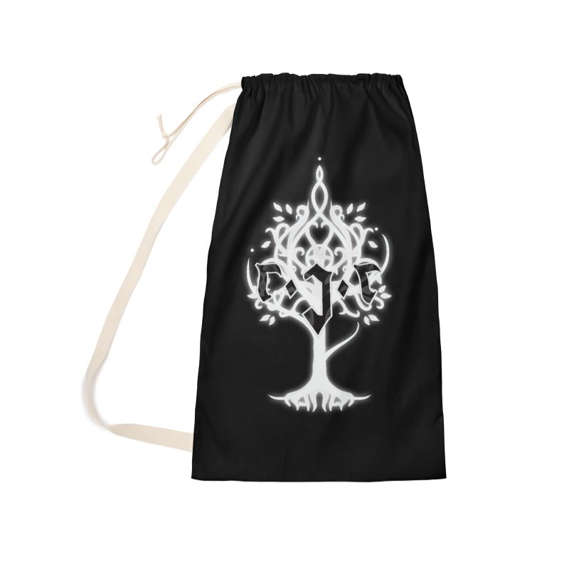 White Tree Awards VII Accessories Laundry Bag Bag by Q101 Shop