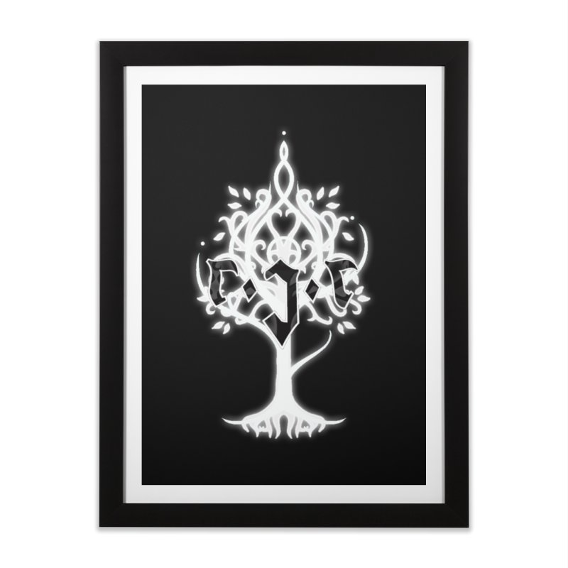 White Tree Awards VII Home Framed Fine Art Print by Q101 Shop