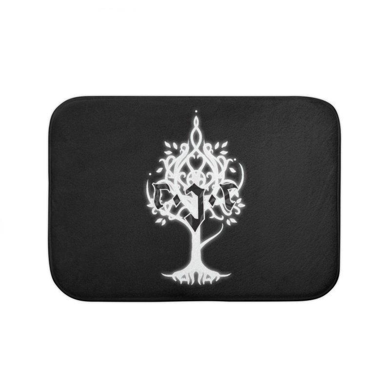 White Tree Awards VII Home Bath Mat by Q101 Shop