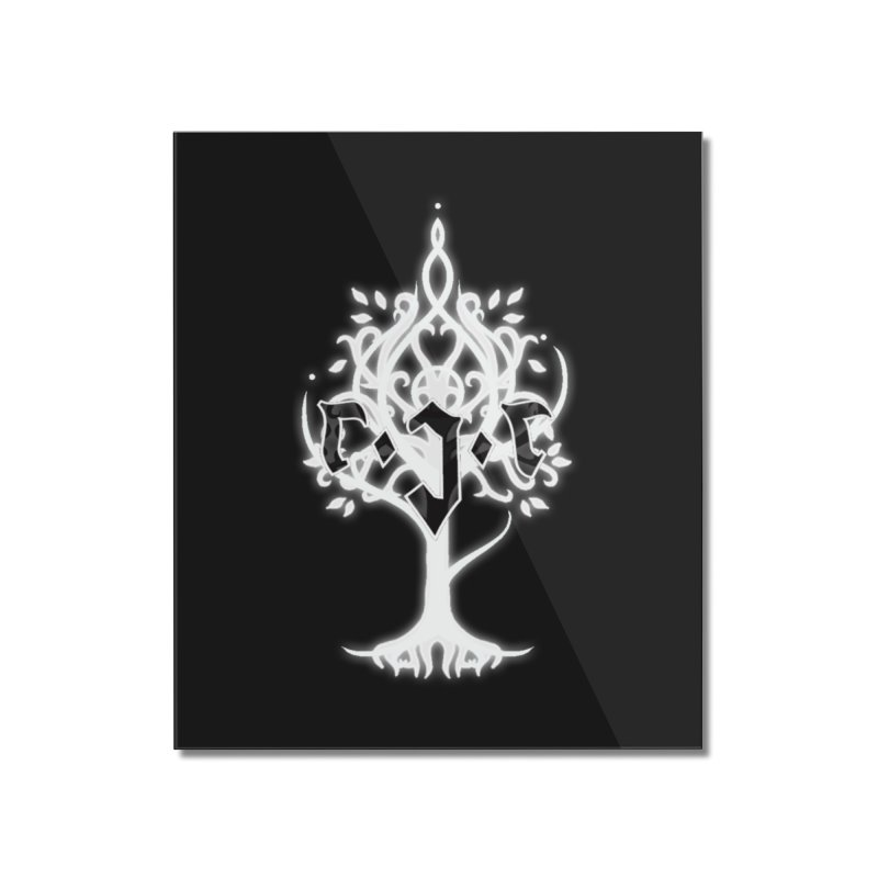 White Tree Awards VII Home Mounted Acrylic Print by Q101 Shop