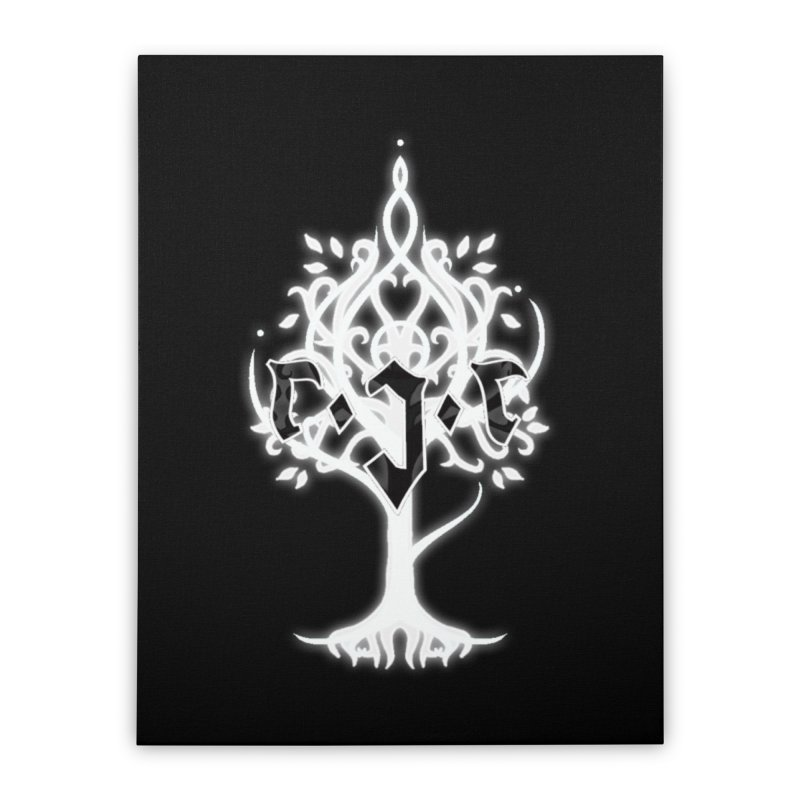 White Tree Awards VII Home Stretched Canvas by Q101 Shop