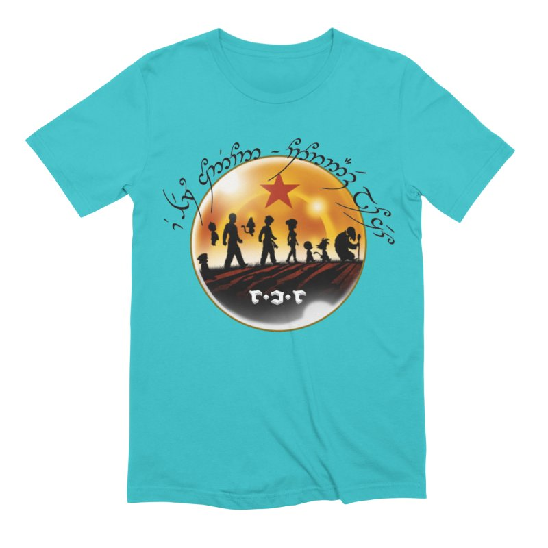 The Lord of the Balls - The Fellowship of the Dragon Men's Extra Soft T-Shirt by Q101 Shop