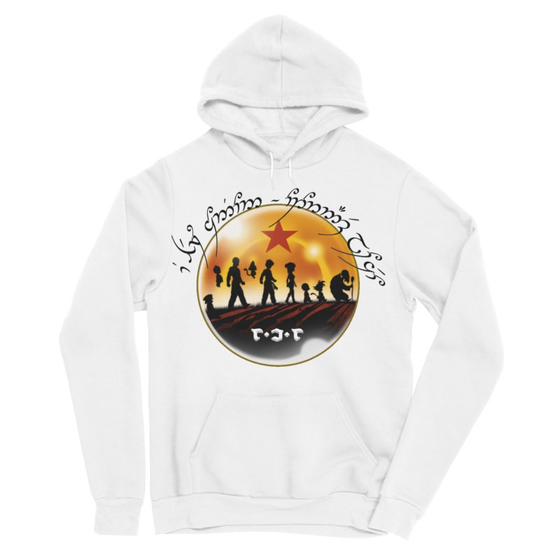 The Lord of the Balls - The Fellowship of the Dragon Men's Sponge Fleece Pullover Hoody by Q101 Shop