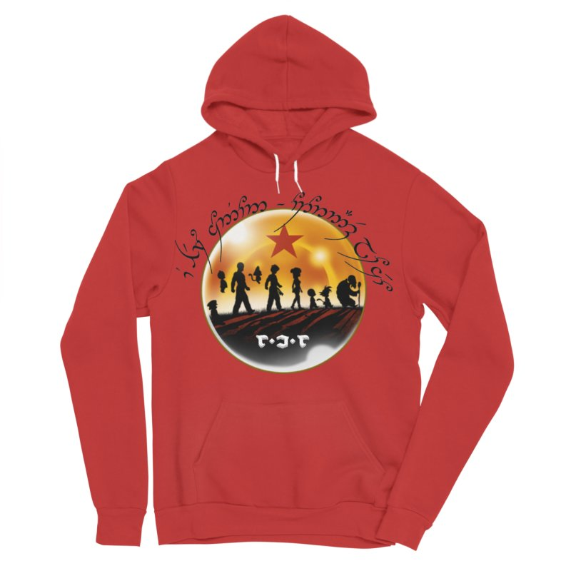 The Lord of the Balls - The Fellowship of the Dragon Women's Sponge Fleece Pullover Hoody by Q101 Shop