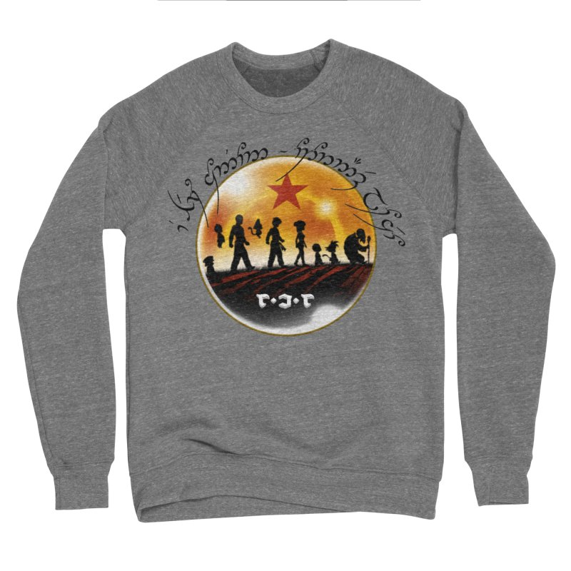 The Lord of the Balls - The Fellowship of the Dragon Men's Sponge Fleece Sweatshirt by Q101 Shop