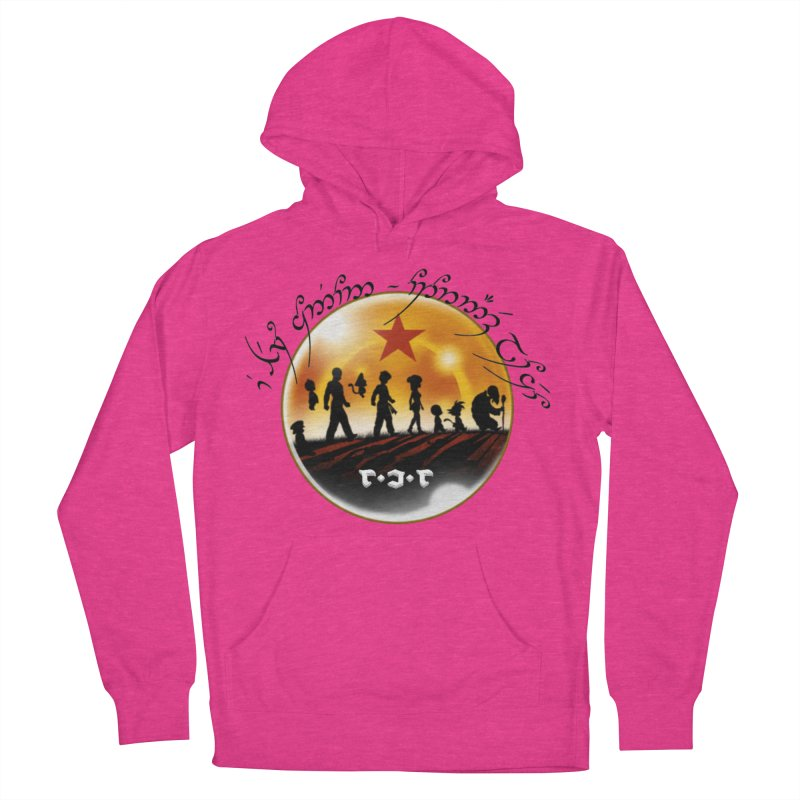The Lord of the Balls - The Fellowship of the Dragon Women's French Terry Pullover Hoody by Q101 Shop
