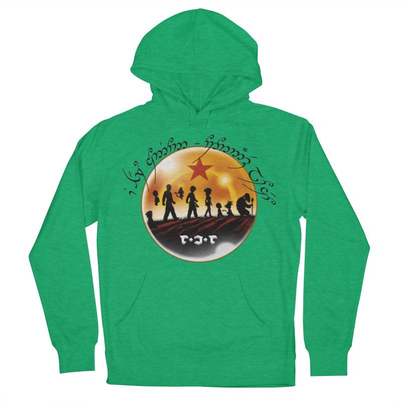 The Lord of the Balls - The Fellowship of the Dragon Men's French Terry Pullover Hoody by Q101 Shop
