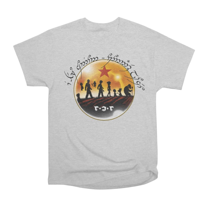 The Lord of the Balls - The Fellowship of the Dragon Women's Heavyweight Unisex T-Shirt by Q101 Shop