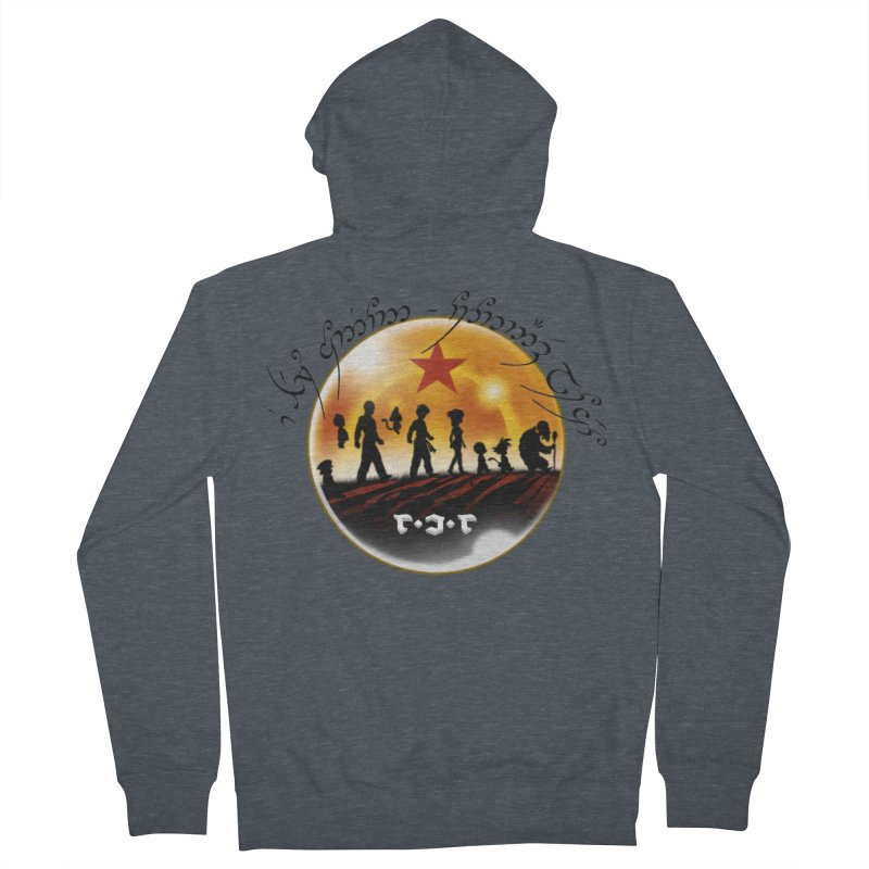 The Lord of the Balls - The Fellowship of the Dragon Women's French Terry Zip-Up Hoody by Q101 Shop