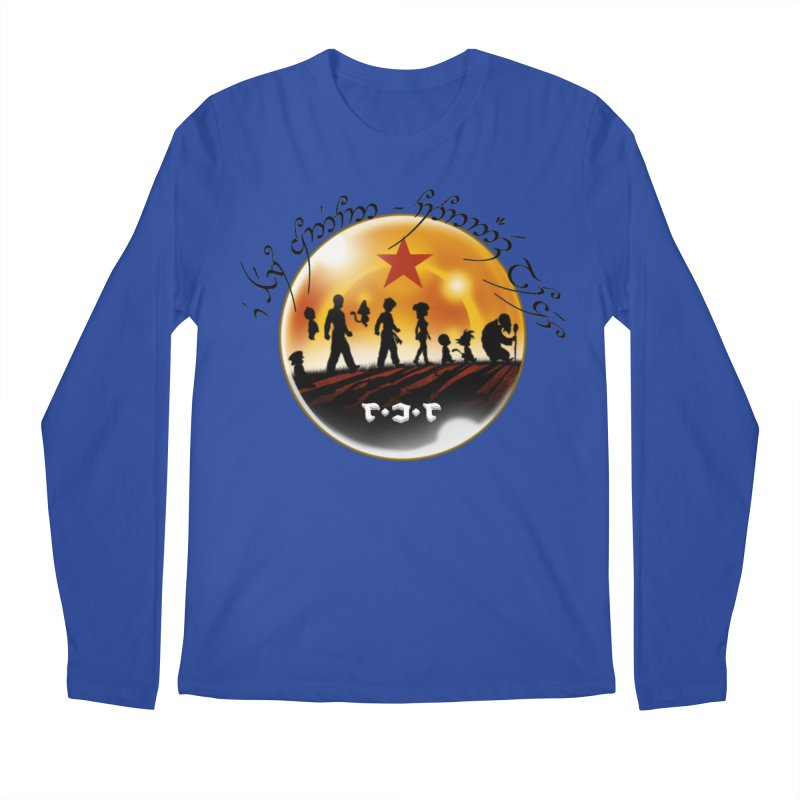 The Lord of the Balls - The Fellowship of the Dragon Men's Regular Longsleeve T-Shirt by Q101 Shop