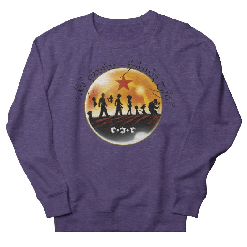 The Lord of the Balls - The Fellowship of the Dragon Women's French Terry Sweatshirt by Q101 Shop