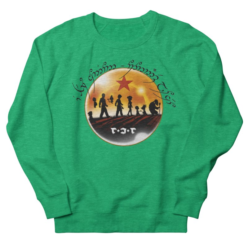 The Lord of the Balls - The Fellowship of the Dragon Men's French Terry Sweatshirt by Q101 Shop
