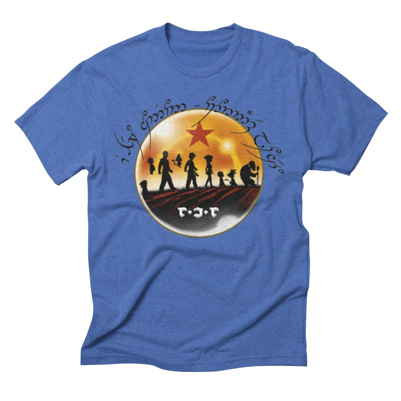 The Lord of the Balls - The Fellowship of the Dragon Men's Triblend T-Shirt by Q101 Shop