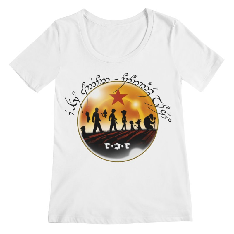 The Lord of the Balls - The Fellowship of the Dragon Women's Regular Scoop Neck by Q101 Shop
