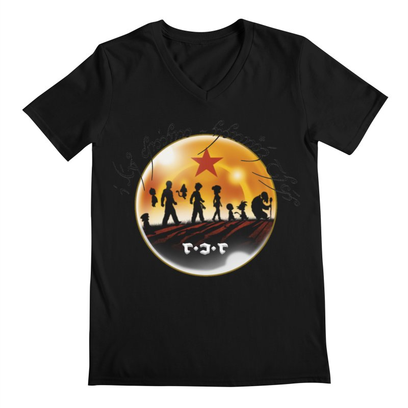 The Lord of the Balls - The Fellowship of the Dragon Men's Regular V-Neck by Q101 Shop