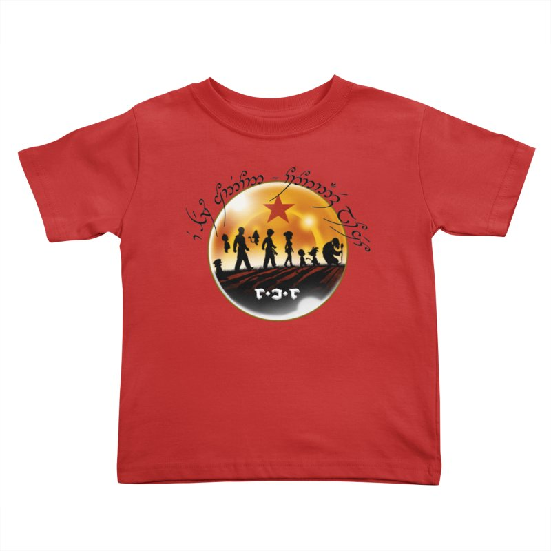 The Lord of the Balls - The Fellowship of the Dragon Kids Toddler T-Shirt by Q101 Shop