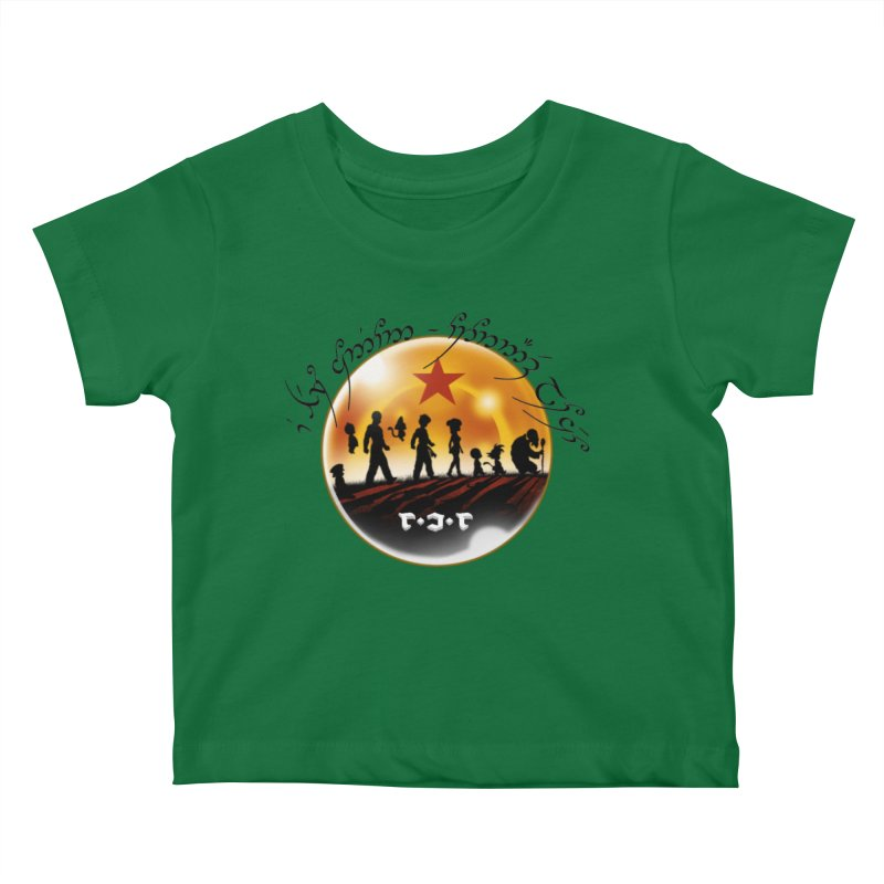 The Lord of the Balls - The Fellowship of the Dragon Kids Baby T-Shirt by Q101 Shop