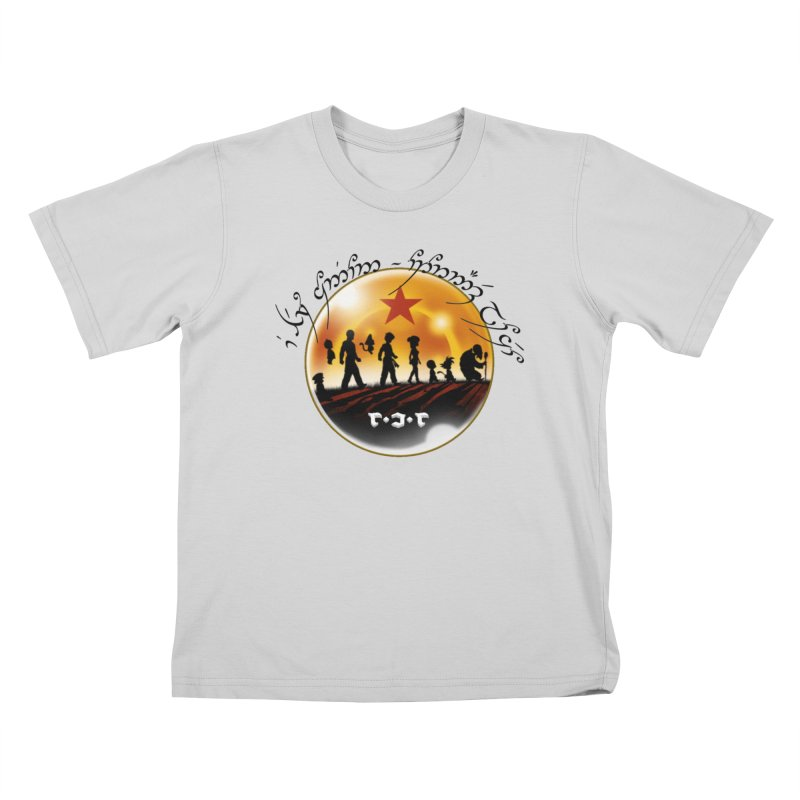 The Lord of the Balls - The Fellowship of the Dragon Kids T-Shirt by Q101 Shop