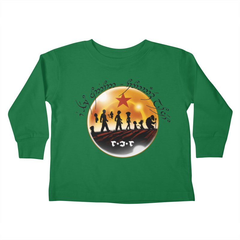 The Lord of the Balls - The Fellowship of the Dragon Kids Toddler Longsleeve T-Shirt by Q101 Shop