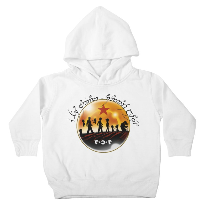 The Lord of the Balls - The Fellowship of the Dragon Kids Toddler Pullover Hoody by Q101 Shop