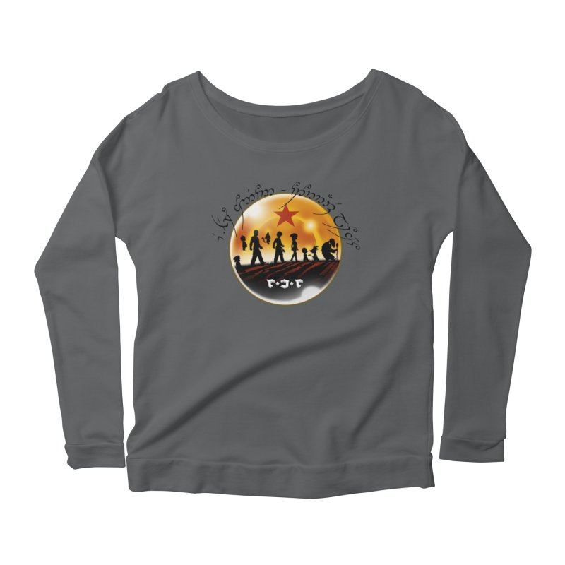 The Lord of the Balls - The Fellowship of the Dragon Women's Scoop Neck Longsleeve T-Shirt by Q101 Shop