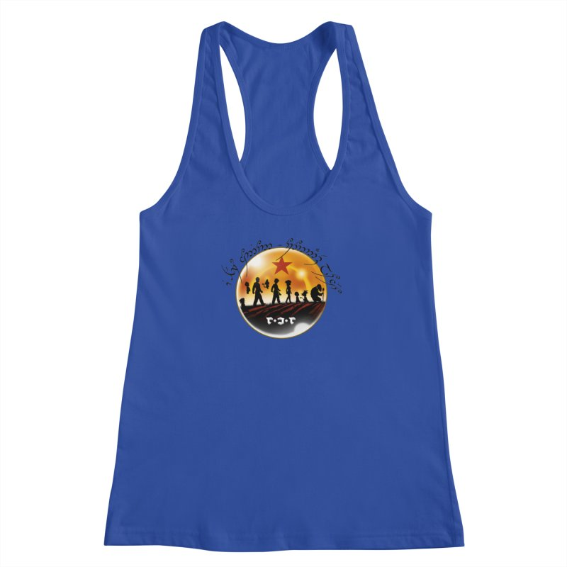 The Lord of the Balls - The Fellowship of the Dragon Women's Racerback Tank by Q101 Shop