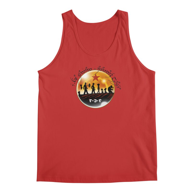 The Lord of the Balls - The Fellowship of the Dragon Men's Regular Tank by Q101 Shop