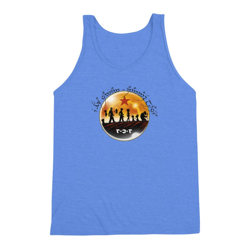 The Lord of the Balls - The Fellowship of the Dragon Men's Triblend Tank by Q101 Shop