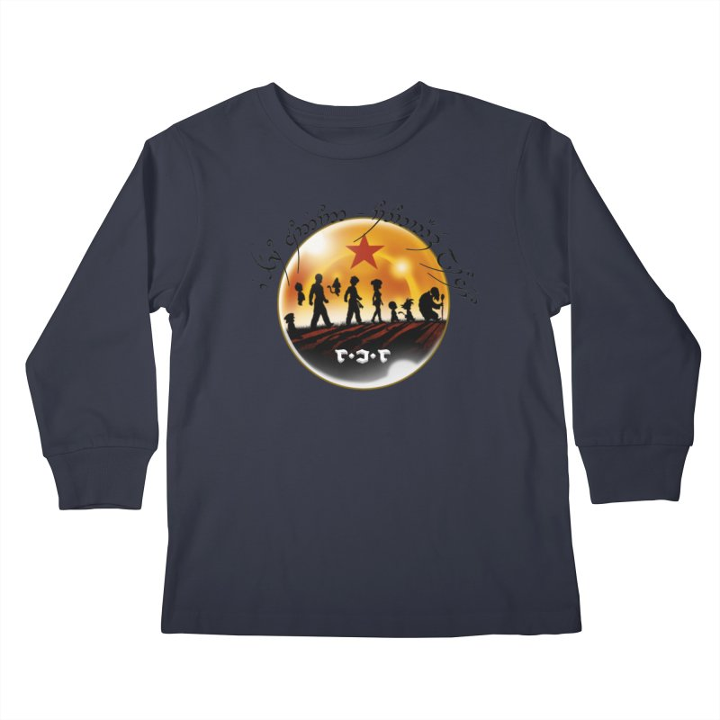 The Lord of the Balls - The Fellowship of the Dragon Kids Longsleeve T-Shirt by Q101 Shop