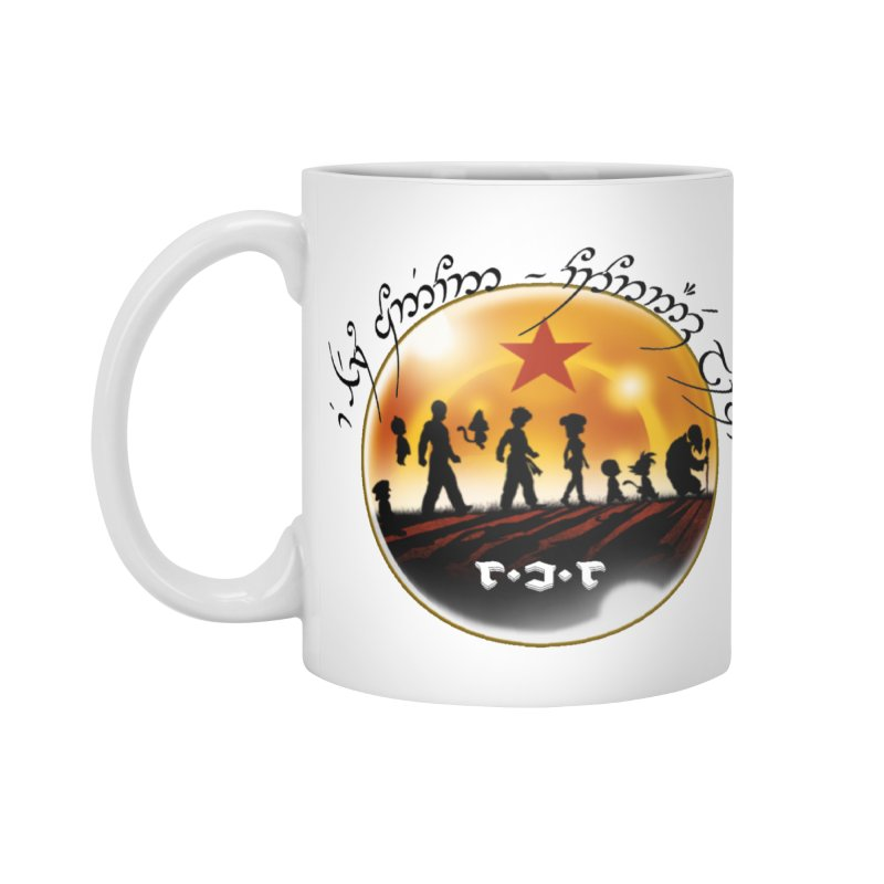 The Lord of the Balls - The Fellowship of the Dragon Accessories Standard Mug by Q101 Shop