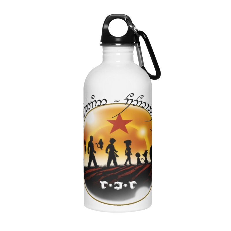 The Lord of the Balls - The Fellowship of the Dragon Accessories Water Bottle by Q101 Shop