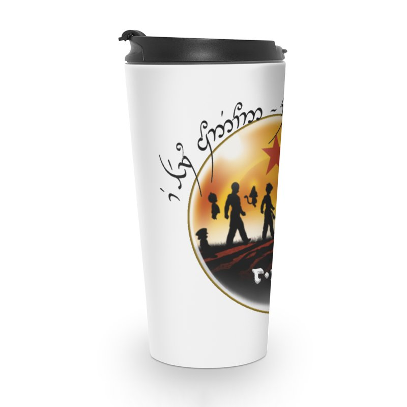 The Lord of the Balls - The Fellowship of the Dragon Accessories Travel Mug by Q101 Shop