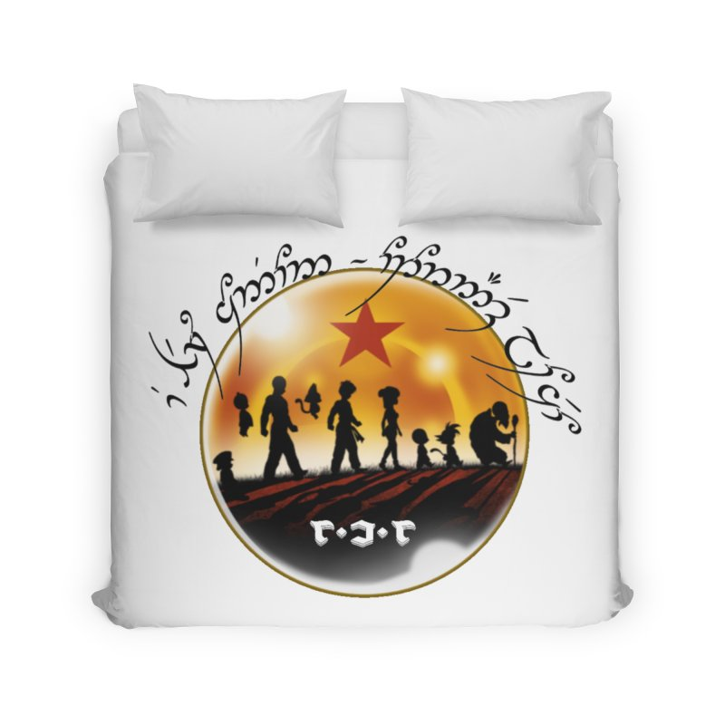 The Lord of the Balls - The Fellowship of the Dragon Home Duvet by Q101 Shop