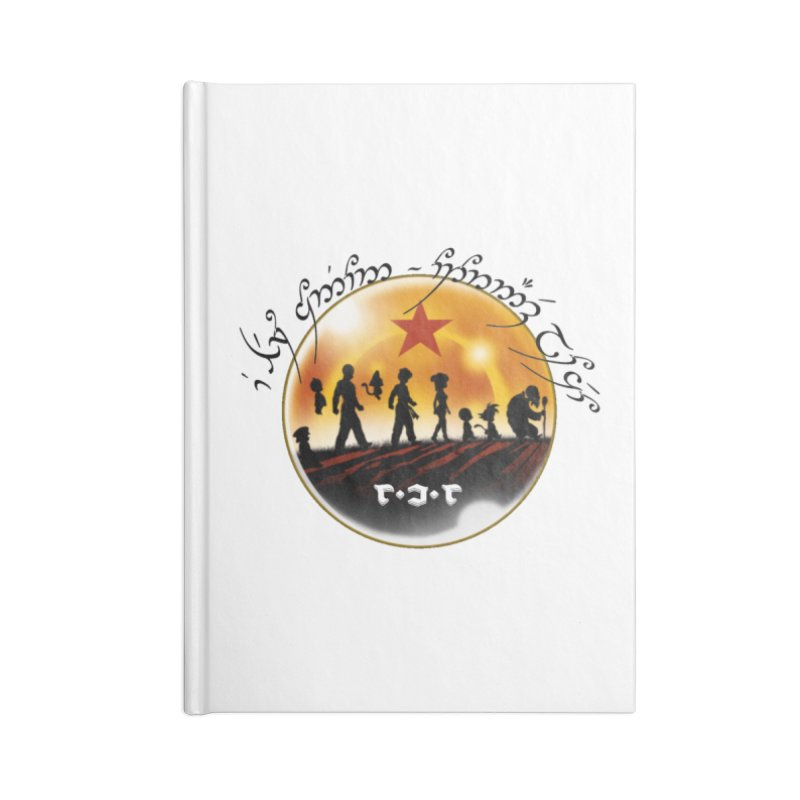 The Lord of the Balls - The Fellowship of the Dragon Accessories Notebook by Q101 Shop