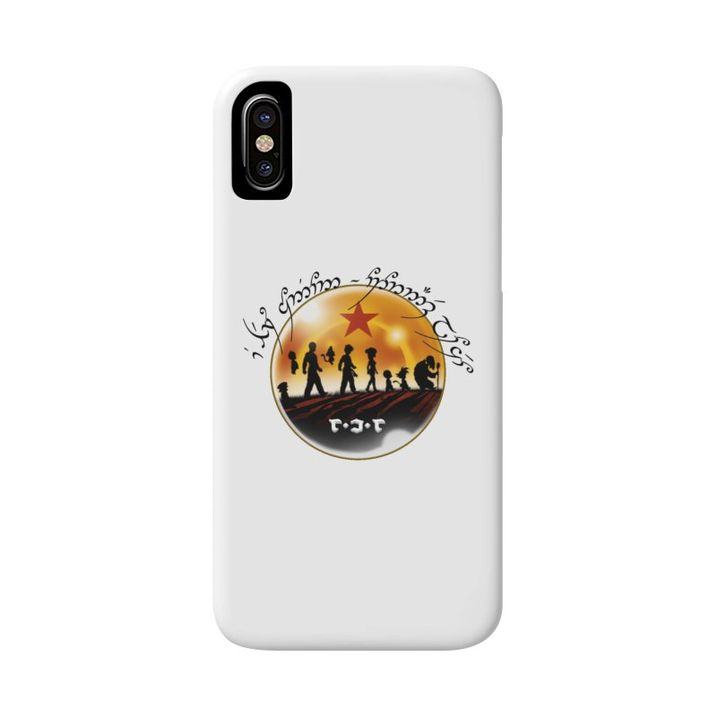 The Lord of the Balls - The Fellowship of the Dragon Accessories Phone Case by Q101 Shop